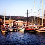 Marmaris harbour early evening- 5 mins taxi from hotel