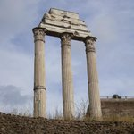 Temple of Castor and Pollux, built in 495 BC