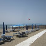 Beach 250 meters from hotel