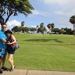 campo de golf al mar