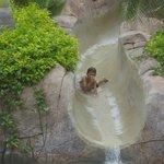 Big kid waterslide