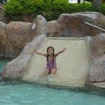 Small kids waterslide
