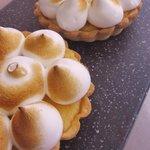 Tartaleta de limón con merengue