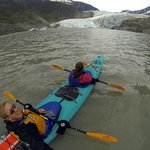 Tandem Kayak Trip to the Mendenhall Glacier
