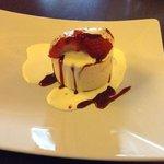 strawberry cheesecake desert