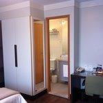 quarto e banheiro