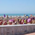 La plage d' Agadir.......