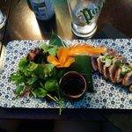 Salade with tuna fish