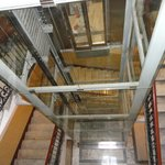 Elevator facility in the building