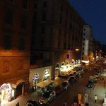 Via Principe Amedeo by night