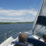 Sailing towards Portavadie