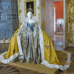 Original gown worn by Catherine the Great