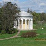 Pavilion in Pavlosk Palace garden