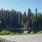 Beautiful lake on the property