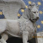 the Lion of St Mark's Square