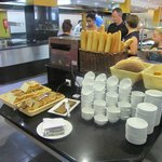 Brood en toaster ontbijt