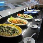 Gemengde koude groentenchotels middag/avond