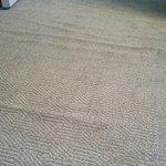 Dirty lifting carpet