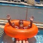 fun in the 'baby pool'
