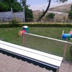 so called kids play area and terrace