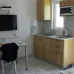 Deluxe kitchen area