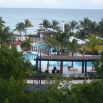 The view from our room! MISS YOU!