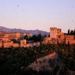 l'alhambra vu de l'albayzin