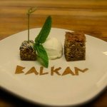 Walnut Cake and Chocolate Baklava