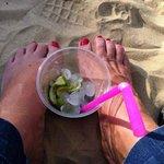 Caipi am Strand