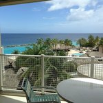 Daytime view from ocean front balcony