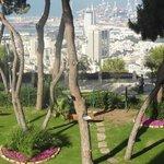 Vista da baia de Haifa