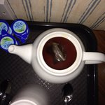 Hope you like tea, because this has happened 3 times to me! Left kindly by the previous guest an