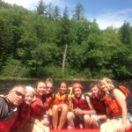 Rafting on the Kennebec River!