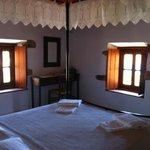 The bedroom - Arietta room