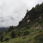 Monastery on hillside