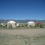 Yurtas acommondation.