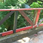 Bridge across creek