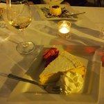 Panna cota au caramel et tarte au citron des 5 terres