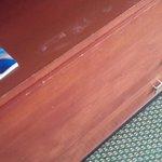 Worn dresser