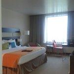 Buen espacio en la habitacion Deluxe o ejecutiva y llena los standares.