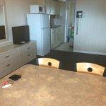 Dining area/Living room/Kitchenette