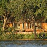 Our lodging at Tongabezi