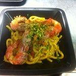 Pinciarelli con gamberi pistacchi e pomodorini