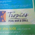 Very cool poolside bar called TROPICS