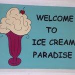 Yes, it's definitely ice cream paradise