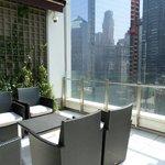 sun terrace @ hotel