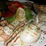 Pesce alla brace / Grilled fish