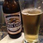 A nice light Japanese beer