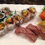 sashimi and sushi treats