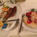 Koobideh and Barg Kabab for dinner.